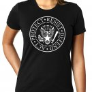 Act - Protect - Resist - Defend RESIST TRUMP Ramones Logo - Women's T Shirt SIZE M