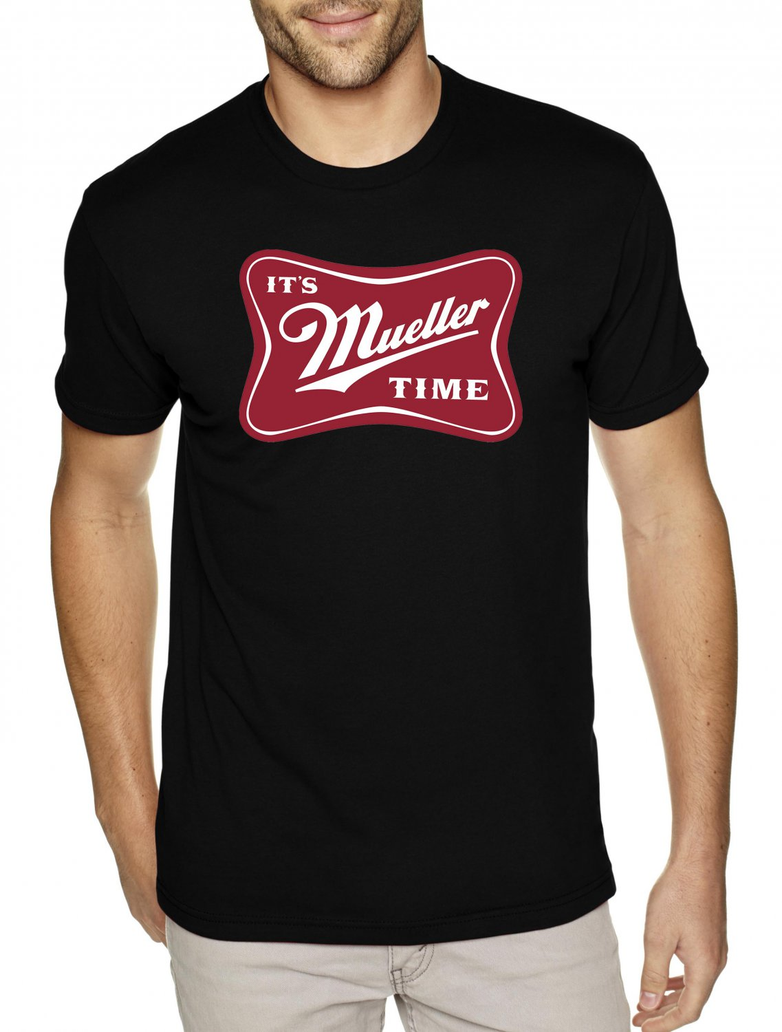 IT'S MUELLER TIME shirt - Premium Sueded Shirt SIZE S