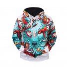 Wolf Totems Symbol Men's Fashion Hoodies, Men's Fashionable Sweater Shirt