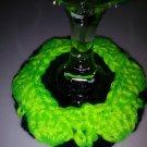 SEAHAWKS - Wine Glass Coaster Cozy