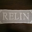 Custom Personalized Name Doily - Hand Crocheted