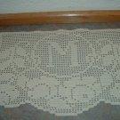 Monogram Doily Crochet Floral PDF Pattern