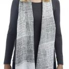 Scratch Lines Oblong Scarf