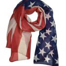 Large Flag Print Scarf