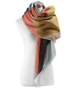 Colorblock Blanket Scarf
