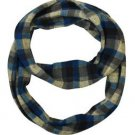 Classic Plaid Jersey infinity Scarf