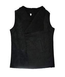 Soft Suede Fleece Lining Vest