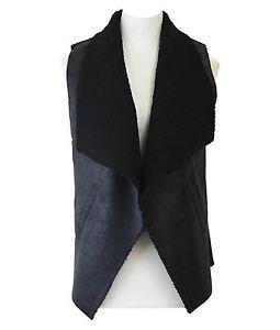 Embossed Suede Fleece Lining Vest