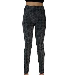 Plaid Pattern Leggings