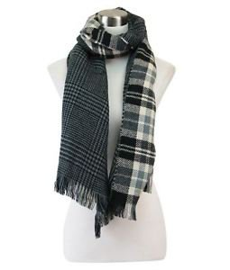 Reversible Prince of Wales Print and Blackwatch Scarf
