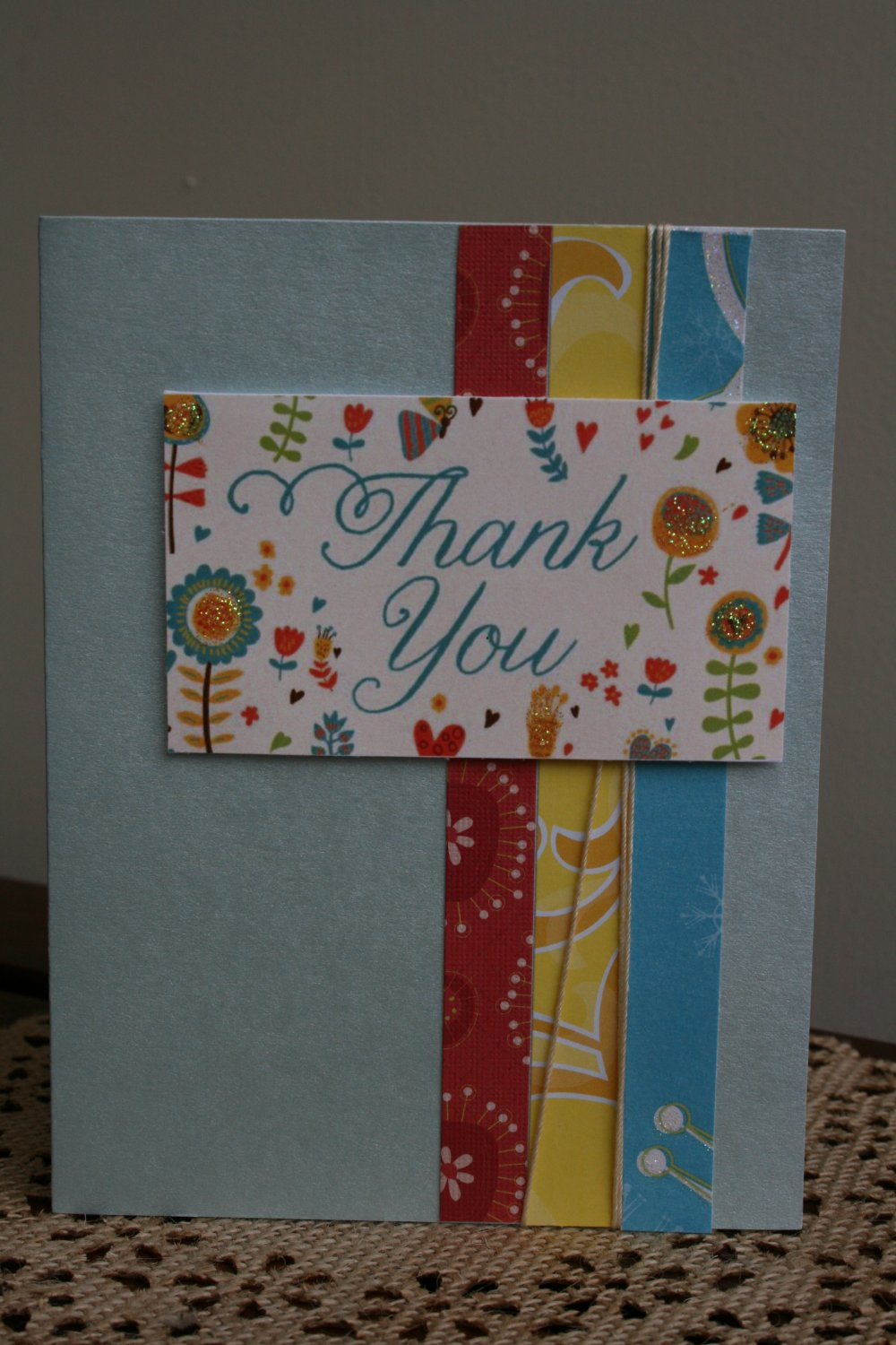 Thank You Handmade Card