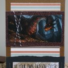 Be Your Own Dragon Slayer Handmade Card