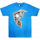 Famous Stars and Straps New Bomb Men's T-shirt Turquoise