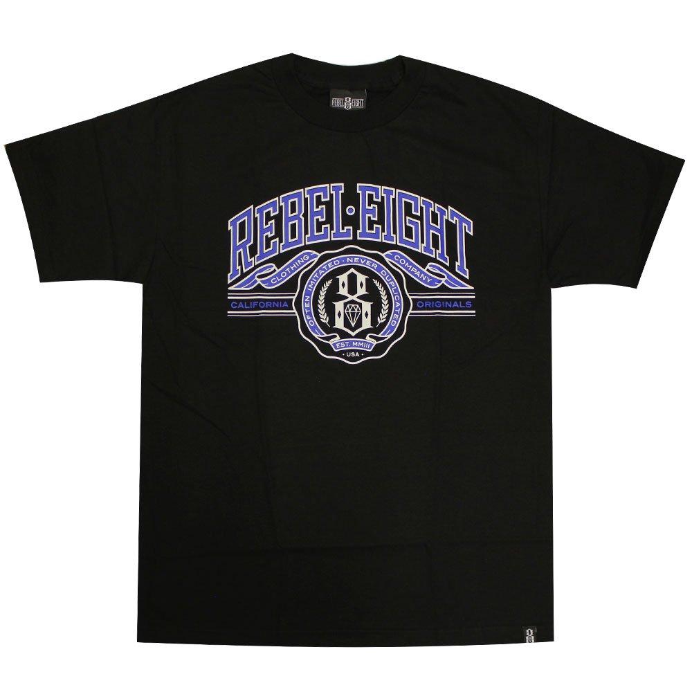 Rebel8 U Of 8 Men's T-shirt Black