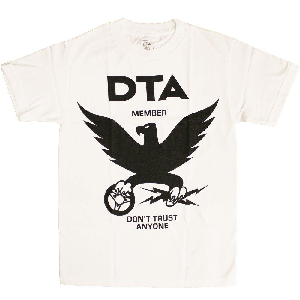 DTA RS Eagle New T-shirt White Black