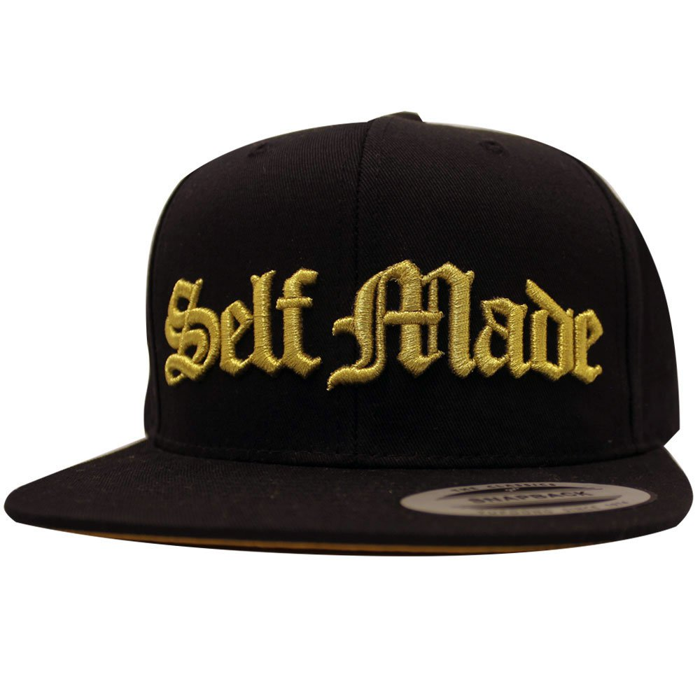 Famous Stars and Straps Made It Men's Snapback Black Gold