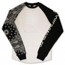 Crooks & Castles Squad Life Raglan L/S T-shirt White