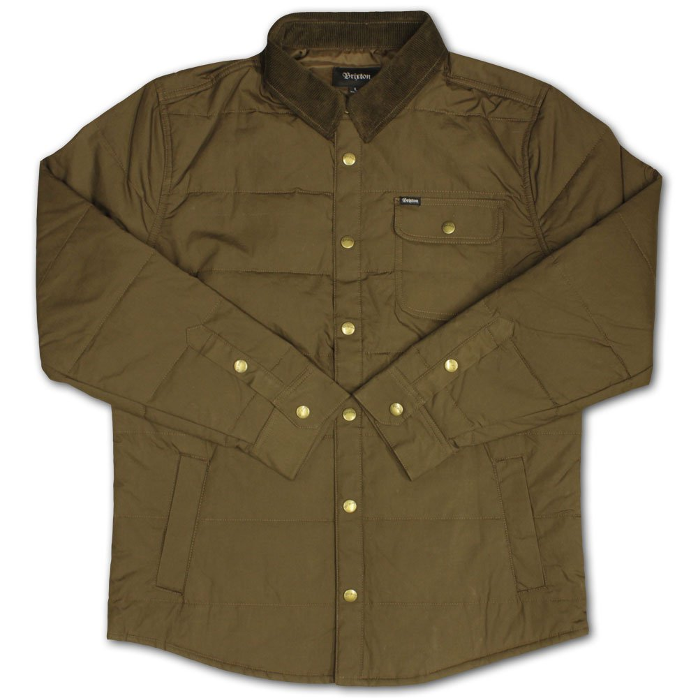 Brixton Cass Jacket Brown