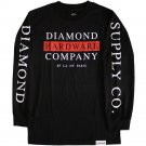 Diamond Supply Co Hardware Stack Long Sleeve T-shirt Black