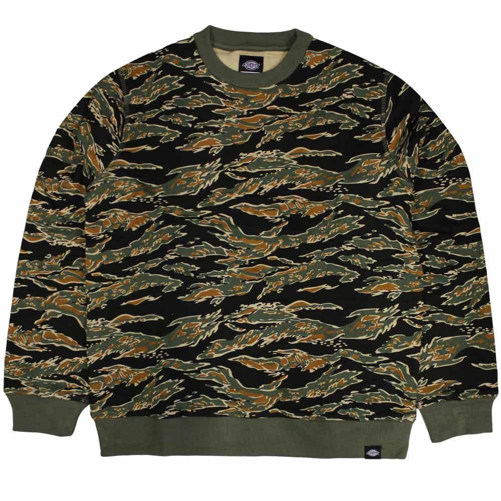 Dickies North Prairie Sweatshirt Tiger Camo
