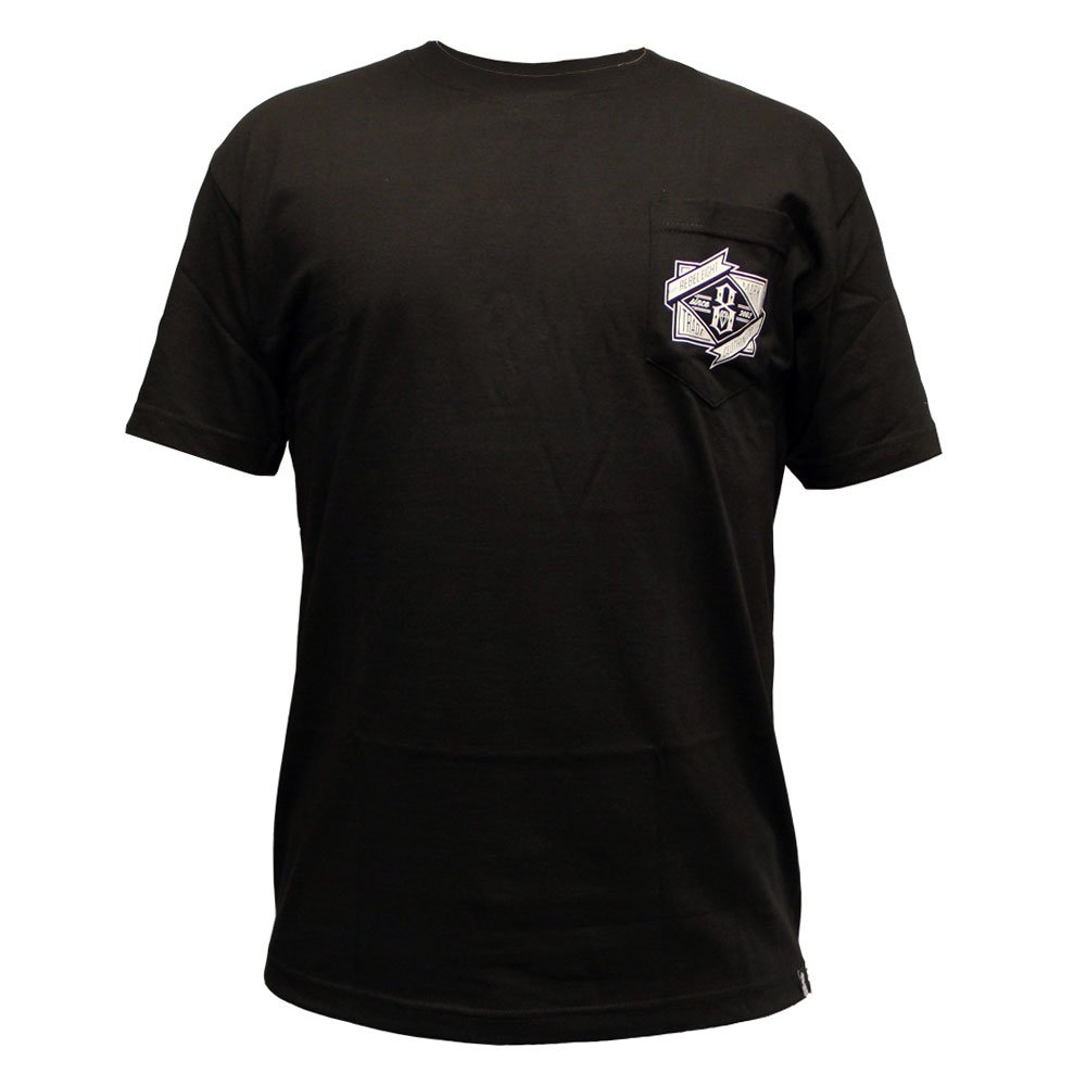 Rebel8 Branded Pocket T-shirt Black