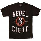 Rebel8 Laurels T-shirt Black
