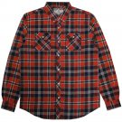 REBEL8 Junction Plaid L/S Shirt Red