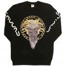 Crooks & Castles Cultivated Lux Medusa Sweatshirt Black