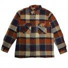 Brixton Archie Flannel L/S Shirt Navy