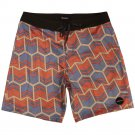 Brixton Generator Shorts Blue Red