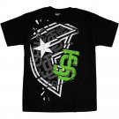 Famous Stars and Straps Ginsu T-shirt Black