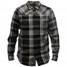 Lrg Revolutionary Brigade Flannel L/S Shirt Black
