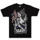 Famous Stars and Straps American Beauty T-shirt Black