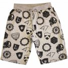 Lrg Random Shields Mens Sweatshorts Graphite Heather
