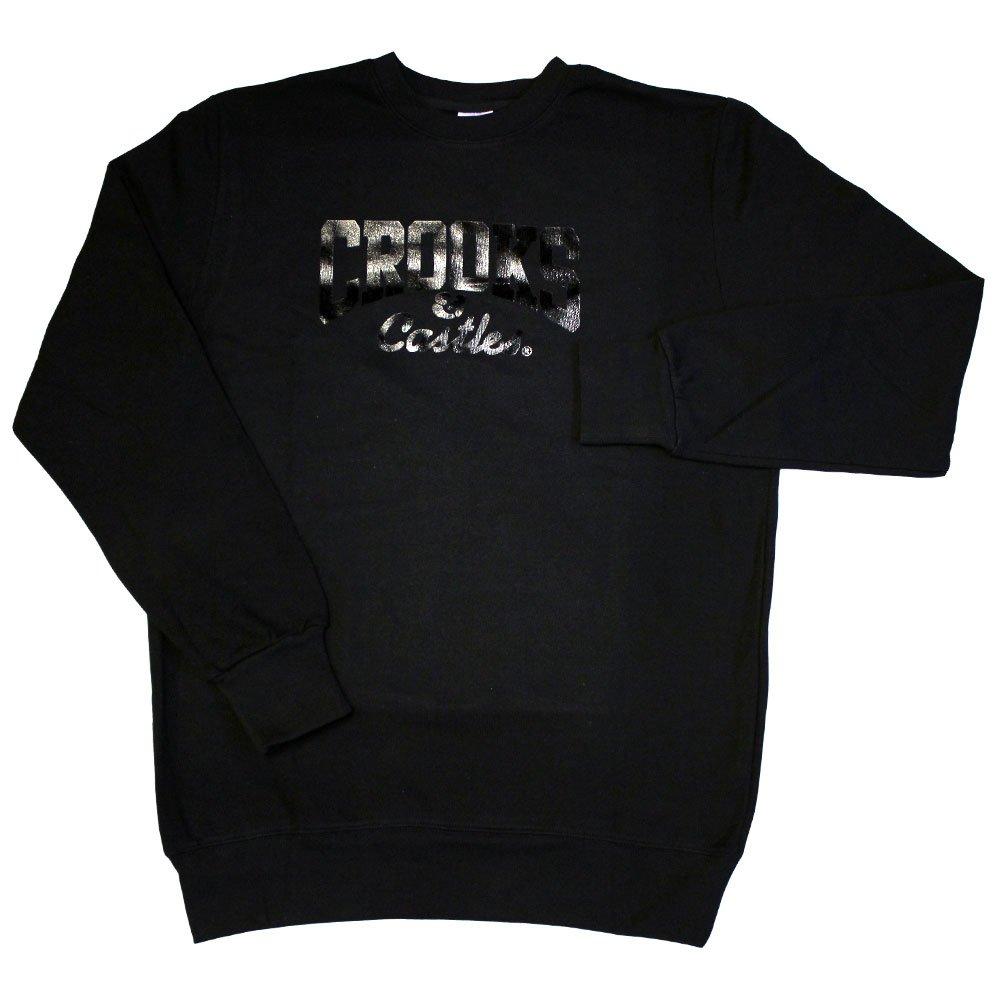 Crooks & Castles Core Logo Sweatshirt Black