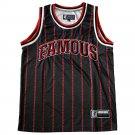 Famous Stars and Straps Baron Jersey Tank Top Black