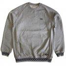 Crooks & Castles 10 Star Raglan Sweatshirt Heather Grey