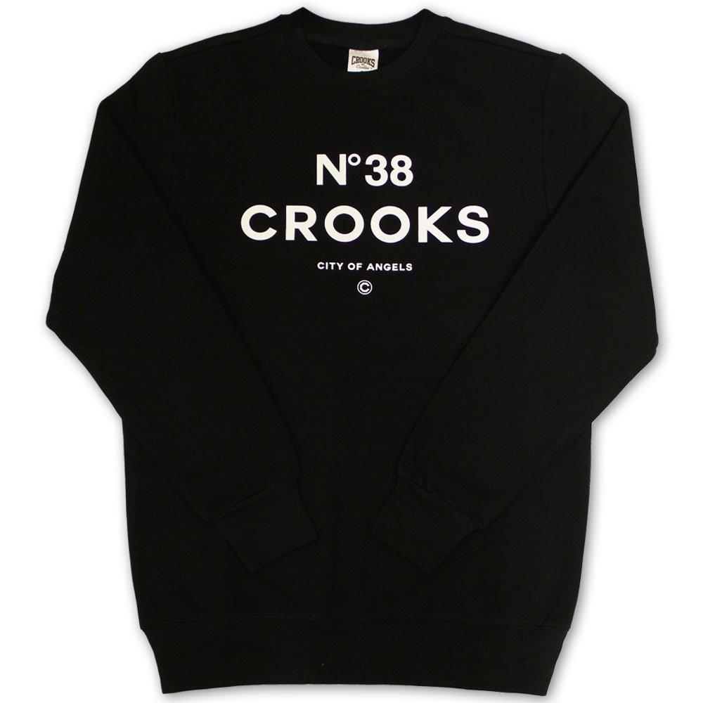 Crooks & Castles No38 Sweatshirt Black