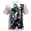 Famous Stars and Straps Contrast Girl T-Shirt White