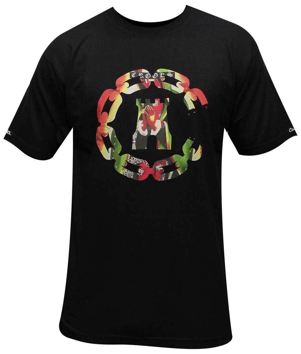 Crooks & Castles Apparition T-shirt Black