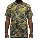 Crooks & Castles Quiet Storm T-Shirt Military Camo