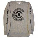 Crooks & Castles Reigning Sweatshirt Heather Grey