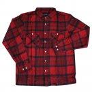 Brixton Milton Flannel L/S Shirt Red