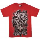 Famous Stars and Straps Widows Nest T-shirt Red