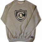 Crooks & Castles Tiger Camo Denim Sweatshirt Grey Speckle