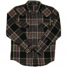 Lrg Sherlocked Flannel L/S Shirt Black