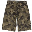 LRG Core Collection Classic Cargo Short in Brown Camo