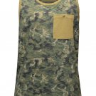 Lrg Tree 47 Tank Top Olive Camouflage