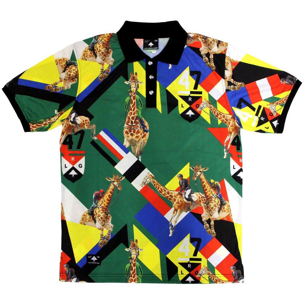 Lrg Giraffe Polo Shirt Green
