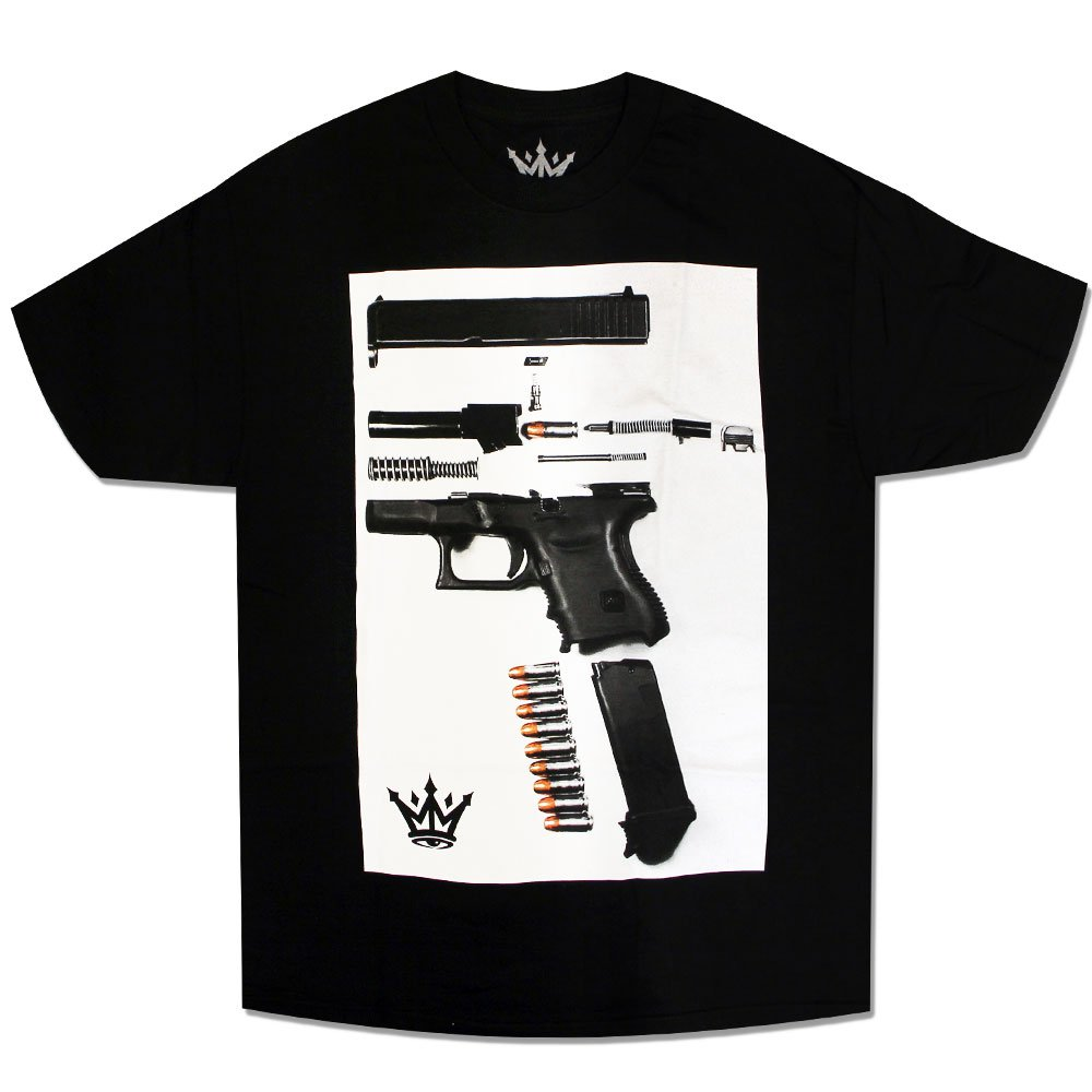 Mafioso Dismantled T-Shirt Black